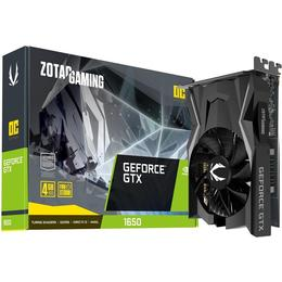 Zotac GeForce GTX 1650 AMP Edition GDDR6 HDMI DP 4GB