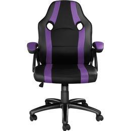tectake Benny Gaming Chair - Black/Purple