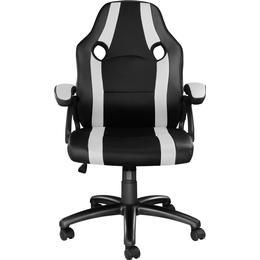 tectake Benny Gaming Chair - Black/White