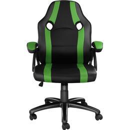 tectake Benny Gaming Chair - Black/Green