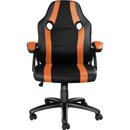 tectake Benny Gaming Chair - Black/Orange