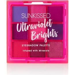 Sunkissed Ultraviolet Bright Eyeshadow Palette
