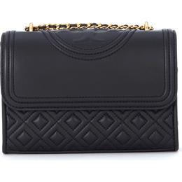 Tory Burch Fleming Small Convertible Shoulder Bag - Black