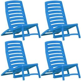 vidaXL 45626 4-pack Sun Chair