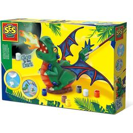SES Creative Glow in the Dark Casting & Painting Dragon 14204