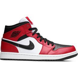 Nike Air Jordan 1 Mid M - Black/Gym Red/White