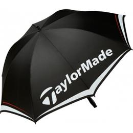 "TaylorMade 60"" Single Canopy Umbrella Black/White/Red (B1600801)"