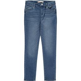 Levi's Kid's 711 Skinny Jeans - Blue Winds-Blue (865220009)