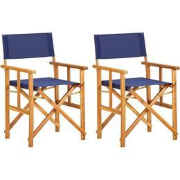 vidaXL 45947 2-pack Director's Chair