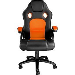 tectake Tyson Gaming Chair - Black/Orange