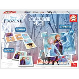 Educa Disney Frozen 2 Super Pack 4 in 1 50 Pieces