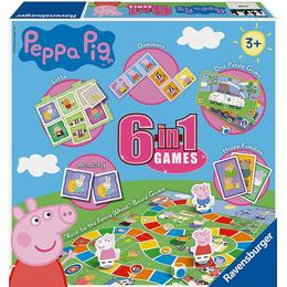 Ravensburger Peppa Pig 6 in 1 Games
