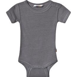 Joha Merino Wool Baby Body - Grey (63986-195-15147)