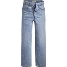 Levi's Ribcage Straight Ankle Jeans - Tango Light/Light Wash