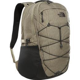 The North Face Borealis Backpack - Burnt Olive Green Rain Camo Print/TNF Black