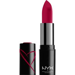 NYX Shout Loud Satin Lipstick Wife Goals