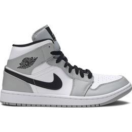 Nike Air Jordan 1 Mid M - Light Smoke Grey/Black/White