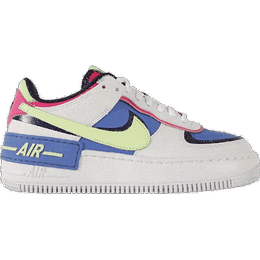 Nike Air Force 1 Shadow W - White/Sapphire/Fire Pink/Barely Volt