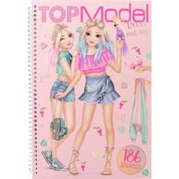 Top Model Tropical Theme Dress Me Up Sticker Book