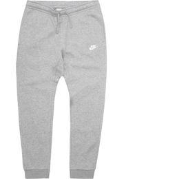 Nike Fleece Joggers Men - Dark Grey Heather/White
