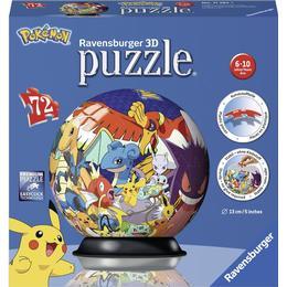Ravensburger 3D Ball Puzzle Pokemon 72 Pieces