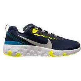 Nike Renew Element 55 GS - Midnight Navy/Lemon Venom/Laser Blue/Light Solar Flare Heather