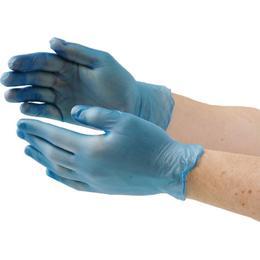Vogue Powder Free Vinyl Gloves 100-pack