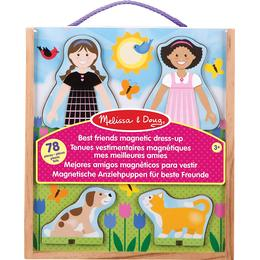 Melissa & Doug Best Friends Magnetic Dress Up 78 Pieces