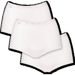 Sloggi Basic+ Maxi Hipster 3-pack - White