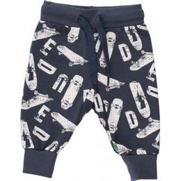 Fred's World Skate Pants with Skateboard Print - Midnight (1535060200-019411006)