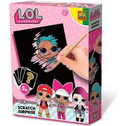 SES Creative L.O.L. Scratch Surprise