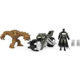 Spin Master Batcycle with Batman vs Clayface