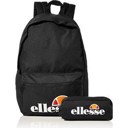 Ellesse Rolby Backpack & Pencil Case - Black