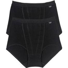 Sloggi Control Maxi Brief 2-pack - Black