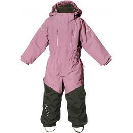 Isbjörn of Sweden Kid's Penguin Snowsuit - Dusty Pink (4700)