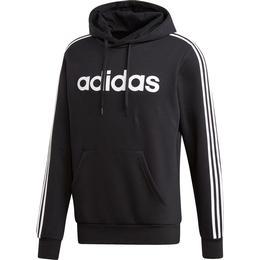 Adidas Essentials 3-Stripes Pullover Hoodie Men - Black/White