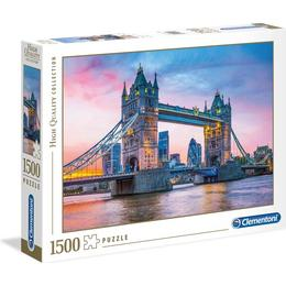 Clementoni High Quality Collection Tower Bridge Sunset 1500 Pieces