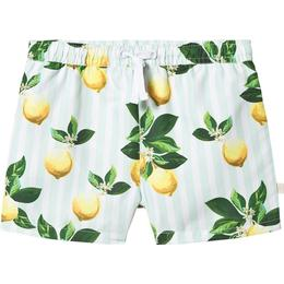 Kuling x Kenza Swim Shorts - Lemon