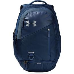 Under Armour Hustle 4.0 Backpack - Academy/Academy/Silver