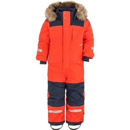 Didriksons Björnen Kid's Coverall - Poppy Red (503314-424)