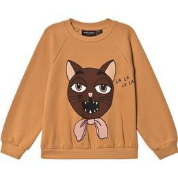 Mini Rodini Cat Choir Sweatshirt - Beige (2072017213)