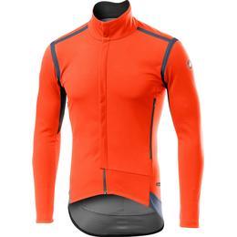 Castelli Perfetto Ros Long Sleeve Jacket Men - Orange
