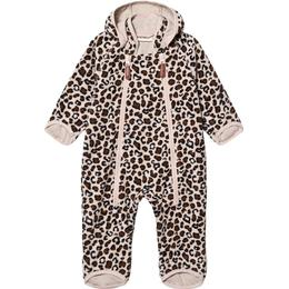 Kuling Livigno Windfleece Overall - Leopard