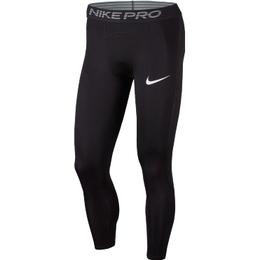 Nike Pro 3/4 Tights Men - Black/White