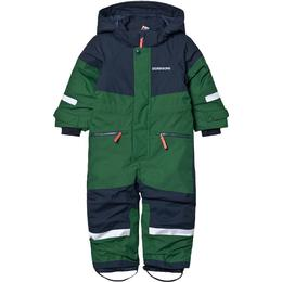 Didriksons Kid's Cornelius Coverall - Leaf Green (503318-423)