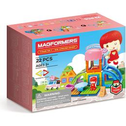 Magformers Town Ice Cream Shop Set