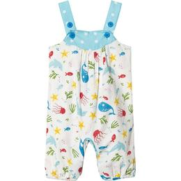 Frugi Springtime Dungaree - Splashing About (DUS008SAO)