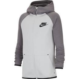 Nike Tech Fleece Full-Zip Hoodie Children - Vast Grey/Gunsmoke/Black