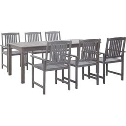 vidaXL 45942 Dining Group, 1 Table inkcl. 6 Chairs