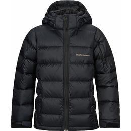 Peak Performance Junior Frost Down Jacket - Black (G58685142-050)